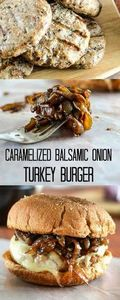 Caramelized Balsamic Onion Turkey  - 300 Healthy Dinner Recipes - RecipePin.com