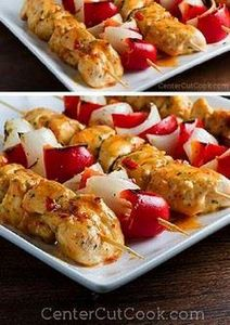 Bang Bang Chicken Kabobs - 300 Healthy Dinner Recipes - RecipePin.com