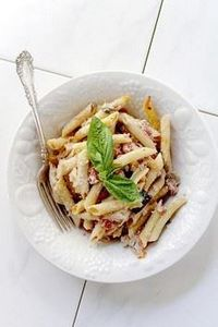 Baked Eggplant Penne Pasta | www.d - 300 Healthy Dinner Recipes - RecipePin.com