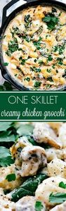 Easy 20 minute prep ONE SKILLET cr - 300 Healthy Dinner Recipes - RecipePin.com