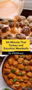 5. 30-Minute Thai Turkey and Zucch - 300 Healthy Dinner Recipes - RecipePin.com