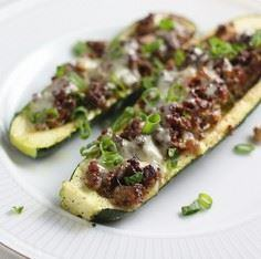stuffed zucchini2 - 300 Healthy Dinner Recipes - RecipePin.com