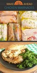 5 make-ahead chicken marinade reci - 300 Healthy Dinner Recipes - RecipePin.com