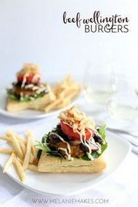 Sure, these Beef Wellington Burger - 300 Healthy Dinner Recipes - RecipePin.com