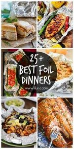 25+ Best Foil Dinners - a roundup  - 300 Healthy Dinner Recipes - RecipePin.com