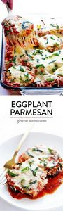 Baked Eggplant Parmesan -- made li - 300 Healthy Dinner Recipes - RecipePin.com