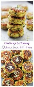 Garlicky & Cheesy Quinoa Zucch - 300 Healthy Dinner Recipes - RecipePin.com