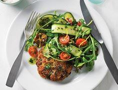 Make these Chicken Burgers in adva - 300 Healthy Dinner Recipes - RecipePin.com