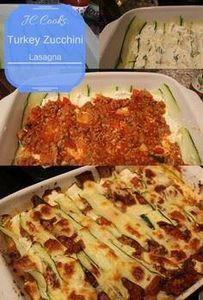 Turkey Courgette Lasagna - Easy Di - 300 Healthy Dinner Recipes - RecipePin.com