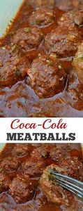 Coca-Cola Meatballs - 300 Healthy Dinner Recipes - RecipePin.com
