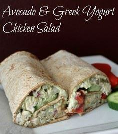 Avocado and Greek Yogurt Chicken S - 300 Healthy Dinner Recipes - RecipePin.com