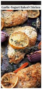 Flavorful, delicious baked chicken - 300 Healthy Dinner Recipes - RecipePin.com