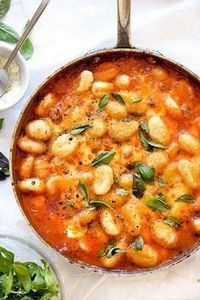 Gnocchi With Pomodoro Sauce | food - 300 Healthy Dinner Recipes - RecipePin.com