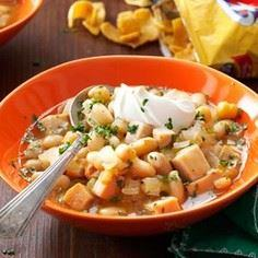 Mexican White Chili Recipe - 300 Healthy Dinner Recipes - RecipePin.com