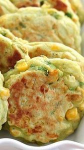 Avocado Corn Cakes - 300 Healthy Dinner Recipes - RecipePin.com