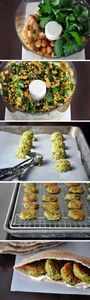 Homemade Falafel - Vegan the falaf - 300 Healthy Dinner Recipes - RecipePin.com