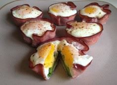 ham eggs avocado // low carb -- ma - 300 Healthy Dinner Recipes - RecipePin.com
