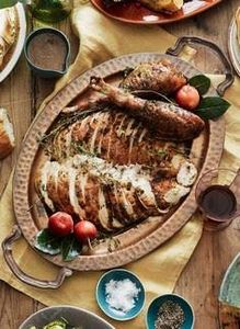 THIS Herb Roasted Turkey will be t - 75 Healthy Turkey Recipes - RecipePin.com