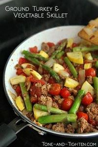 Healthy, protein-packed ground tur - 75 Healthy Turkey Recipes - RecipePin.com