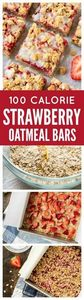 These buttery Strawberry Oatmeal B - 250 Heart Healthy Recipes - RecipePin.com