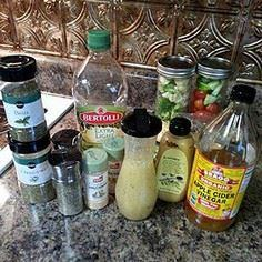This dressing has it all! It's low - 250 Heart Healthy Recipes - RecipePin.com