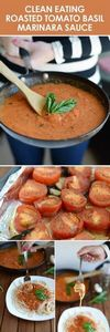 Clean Eating Roasted Tomato Basil  - 250 Heart Healthy Recipes - RecipePin.com