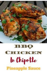 Spicy Barbecue Chicken with chipot - 250 Heart Healthy Recipes - RecipePin.com