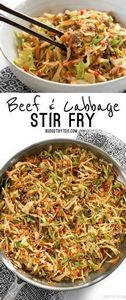 This fast and easy Beef and Cabbag - 250 Heart Healthy Recipes - RecipePin.com