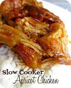 Slow Cooker Apricot Chicken | Six  - 250 Heart Healthy Recipes - RecipePin.com