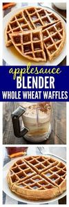 Fluffy, golden waffles that you ma - 250 Heart Healthy Recipes - RecipePin.com
