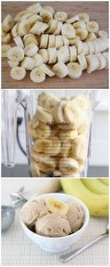 Two Ingredient Banana Peanut Butte - 250 Heart Healthy Recipes - RecipePin.com