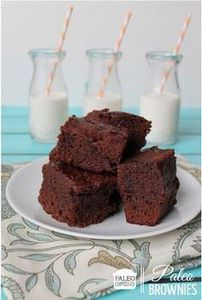 Paleo Double Chocolate Brownies #g - 250 Heart Healthy Recipes - RecipePin.com