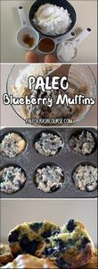 Paleo friendly blueberry muffins t - 250 Heart Healthy Recipes - RecipePin.com