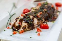 Slow Cooker Balsamic-Glazed Chicke - 250 Heart Healthy Recipes - RecipePin.com