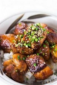 Sweet and Savory Ginger Chicken -  - 235 Japanese Recipes - RecipePin.com