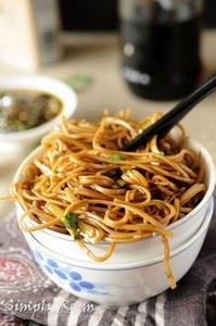 soba noodles with sweet ginger sca - 235 Japanese Recipes - RecipePin.com