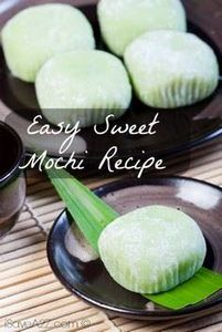 Check out this Easy Sweet Mochi Re - 235 Japanese Recipes - RecipePin.com
