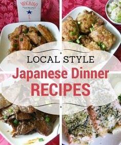 Delicious local style Japanese foo - 235 Japanese Recipes - RecipePin.com