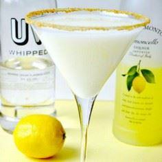 Lemon Meringue Martini Recipe This - 250 Lemon Recipes - RecipePin.com