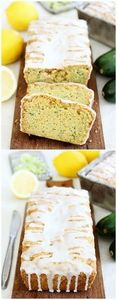 Lemon Zucchini Bread - 250 Lemon Recipes - RecipePin.com