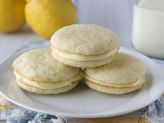 Lemon Whoopie Pies - 250 Lemon Recipes - RecipePin.com