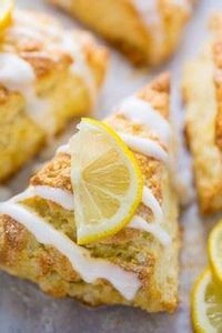Lemon Ricotta Scones - 250 Lemon Recipes - RecipePin.com