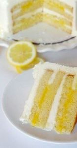 Triple Lemon Cake - Life Love and  - 250 Lemon Recipes - RecipePin.com