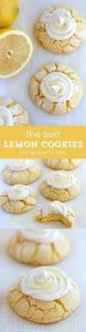 Amazing Lemon Crinkle Cookies by @ - 250 Lemon Recipes - RecipePin.com