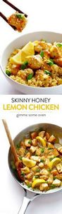 This Skinny Honey Lemon Chicken re - 250 Lemon Recipes - RecipePin.com