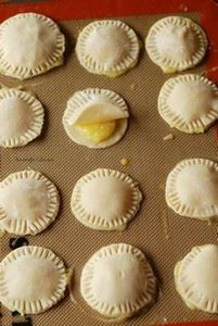 Mini Lemon Hand Pies! Pie dough is - 250 Lemon Recipes - RecipePin.com