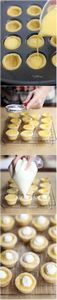 Sugar Cookie Lemon Tarts - 250 Lemon Recipes - RecipePin.com
