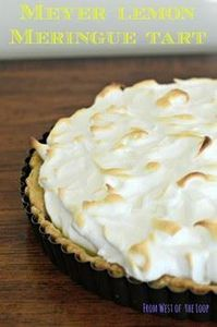 Meyer lemon meringue tart: an impr - 250 Lemon Recipes - RecipePin.com