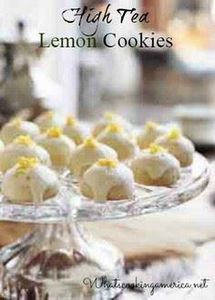 High Tea Lemon Cookies | What's Co - 250 Lemon Recipes - RecipePin.com