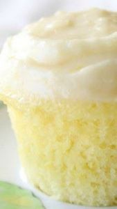 Cloud Like Lemon Cupcakes Recipe ~ - 250 Lemon Recipes - RecipePin.com